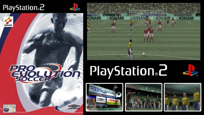 PRO EVOLUTION SOCCER (Winning Eleven 5)(Playstation 2)