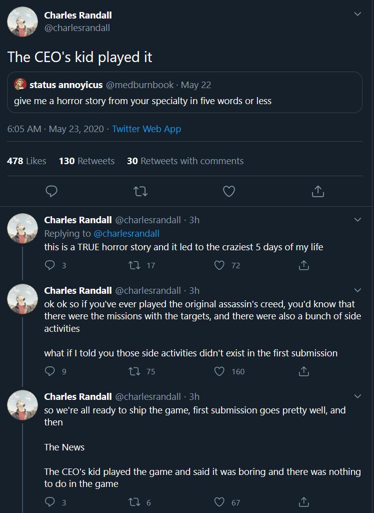 Ubisoft adicionou todas as atividades secundárias no primeiro Assassin's Creed em apenas cinco dias