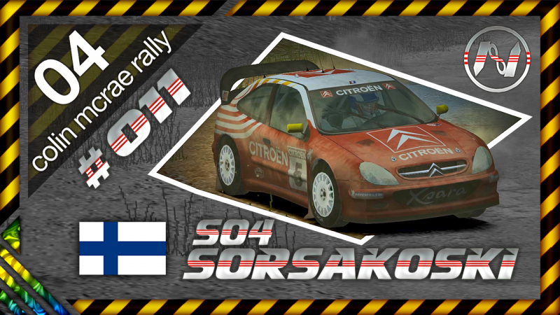 Colin McRae Rally 04 | Finlândia | S04 | Sorsakoski