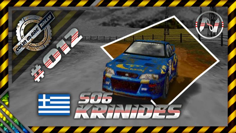 Colin McRae Rally | Grécia | S06 | Krinides