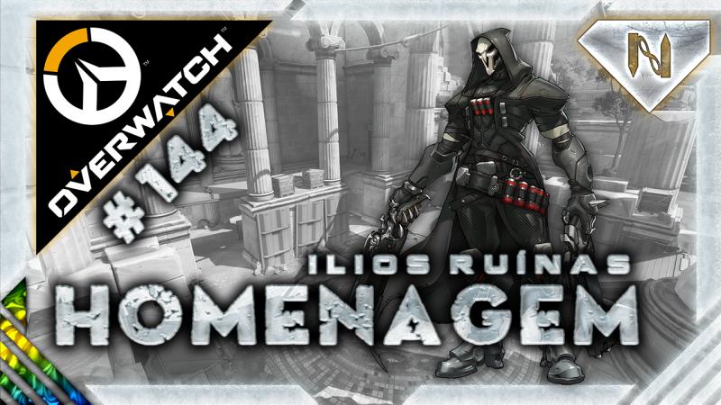 Overwatch | Homenagem | Reaper | Ilios Ruínas