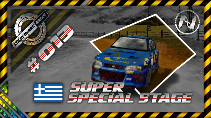 Colin McRae Rally | Grécia | SS | Super Special Stage