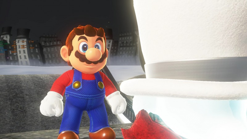 Super Mario Odyssey PC - YUZU com ARB Shaders