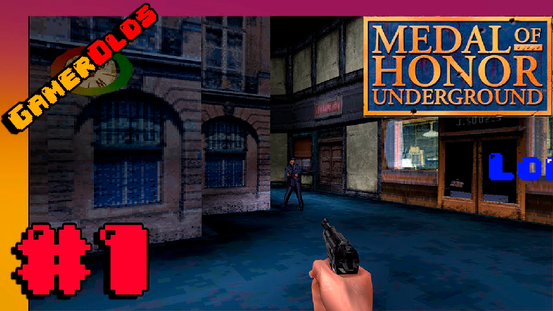 Medal Of Honor Underground HD PS1 #1