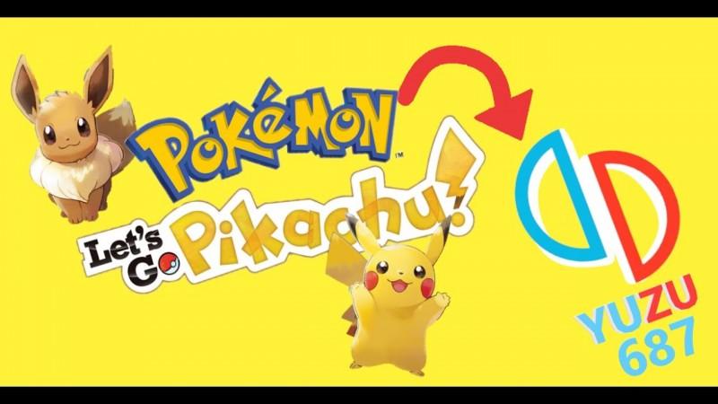 Pokemon Lets Go - YUZU 687😎😮