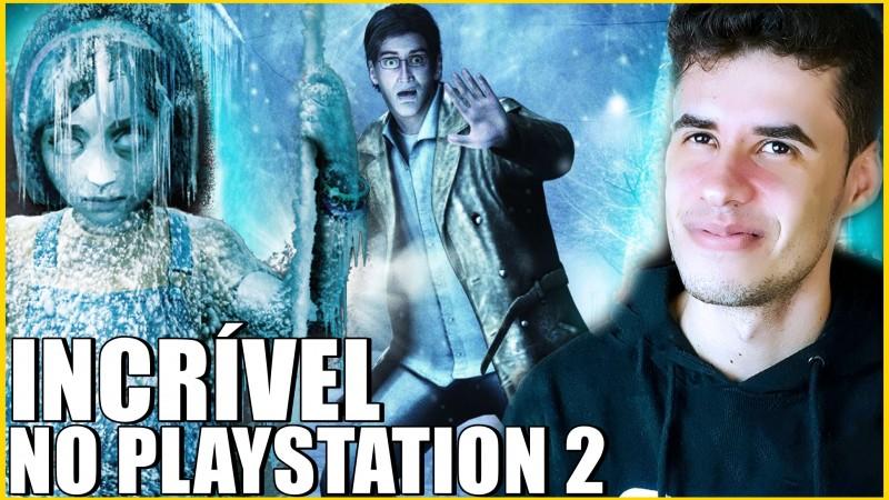 UMA ADAPTAÇÃO INCRÍVEL PARA O PS2? - Silent Hill Shattered Memories