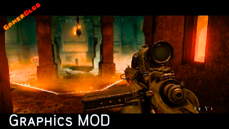 Wolfenstein Old Blood Cinematic SweetFX [ Improved Graphics Mod ]