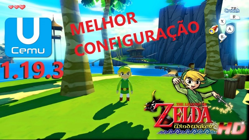 CEMU 1.19.3 Melhor configuraçção - The Legend of Zelda: The Wind Waker HD - i5 3470 + NVIDIA GTX970