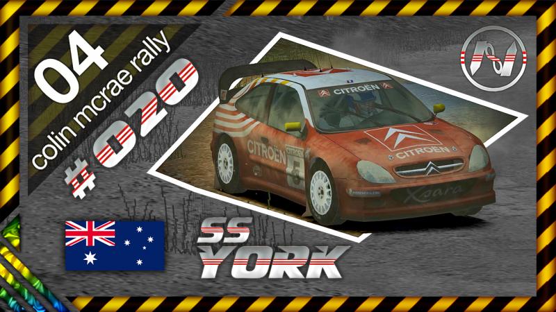 Colin McRae Rally 04 | Austrália | SS | York