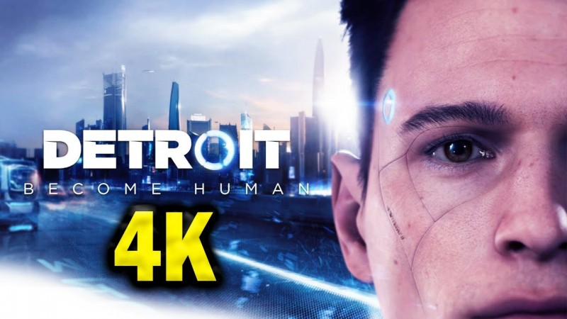 Detroit Become Human 4K Gameplay PC