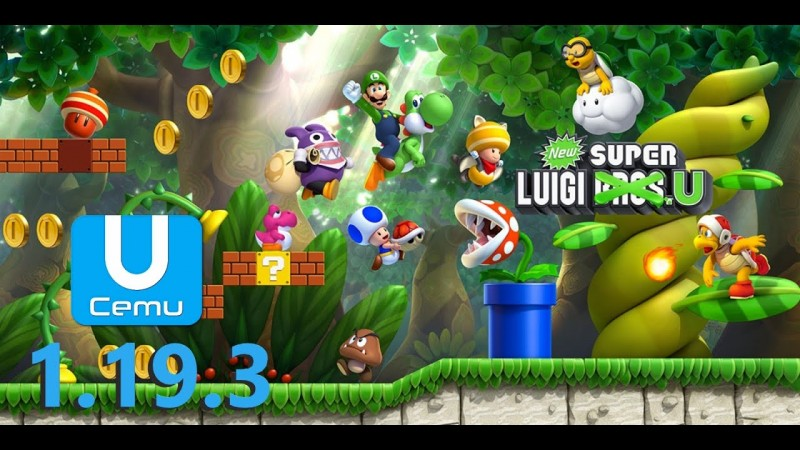 New Super Luigi U - Cemu 1.19.3
