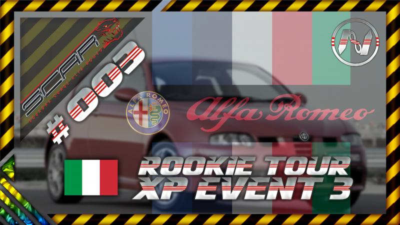 SCAR: Squadra Corse Alfa Romeo   Rookie Tour XP Event 3   Milano Short   147