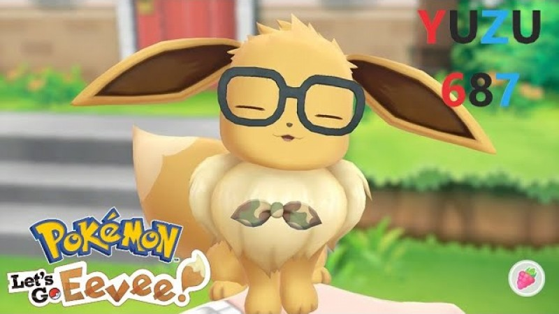 Yuzu - Pokémon Go Eevee