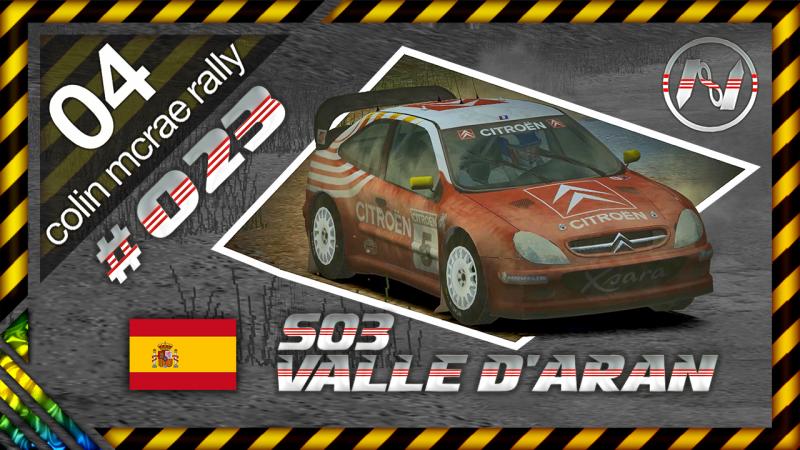 Colin McRae Rally 04   Espanha   S03   Valle DAran