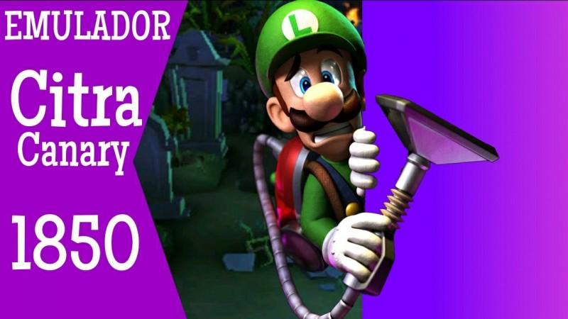 NOVO CITRA CANARY 1850 | Luigis Mansion 2 Dark Moon
