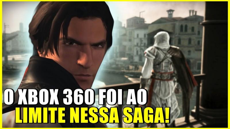O XBOX 360 FOI AO LIMITE COM ASSASSINS CREED 2?