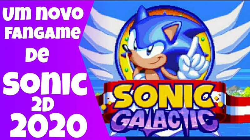 Sonic Galactic 2020 Showcase Demo (Download) | Gameplay Pt-Br