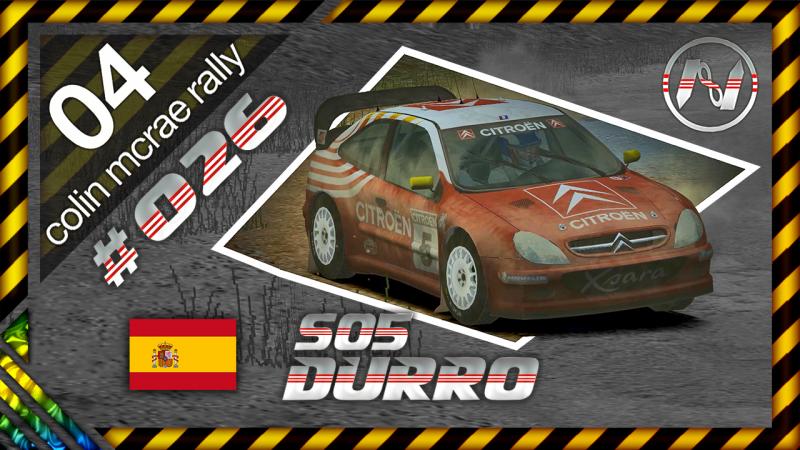 Colin McRae Rally 04 | Espanha | S06 | Durro