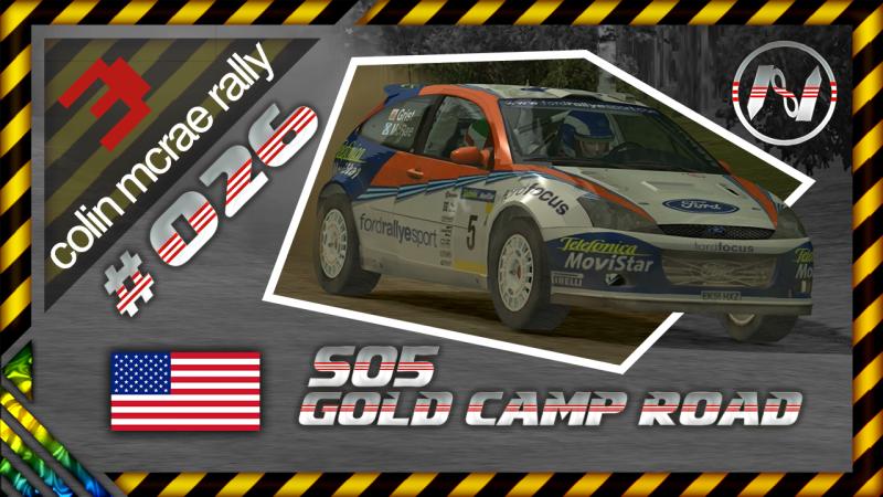 Colin McRae Rally 3 | Estados Unidos | S05 | Gold Camp Road