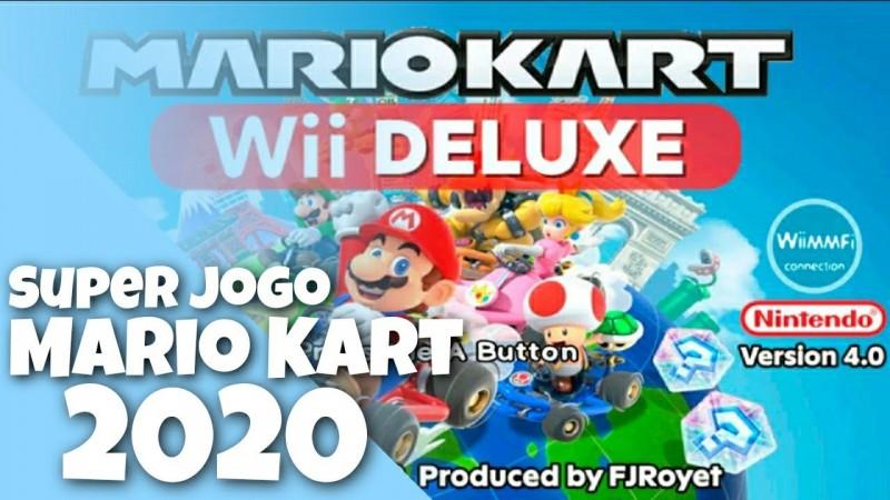 Novo! Mario Kart Wii Deluxe v4.0 Release | GamePlay PT-BR