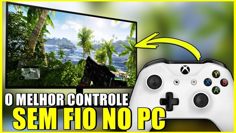 Como Conectar o CONTROLE DO XBOX ONE Sem Fio no PC