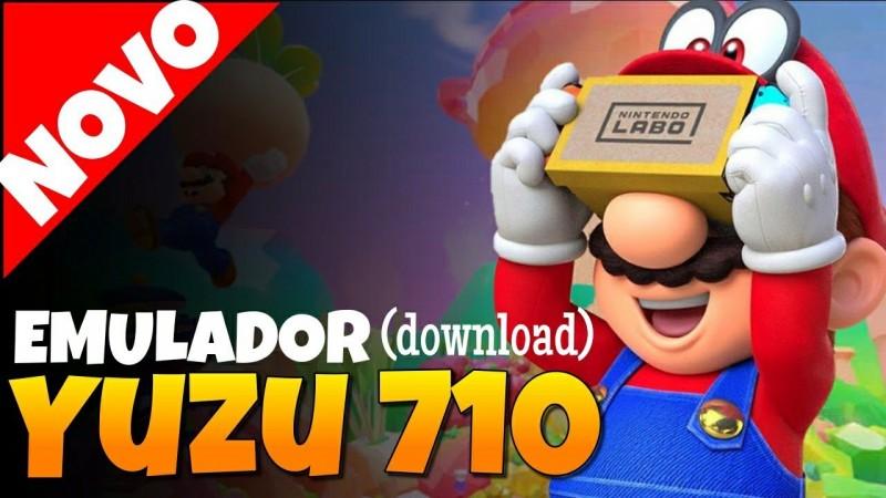 EMULADOR YUZU EARLY ACCESS 710 | SUPER MARIO ODYSSEY | 60 FPS