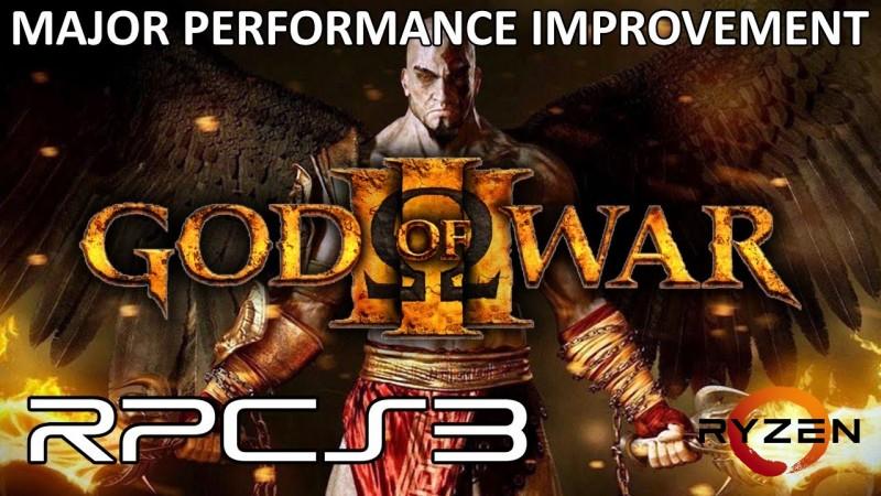 GOD OF WAR 3 (RPCS3) | MELHORA DE PERFORMANCE INCRÍVEL ryzen amd