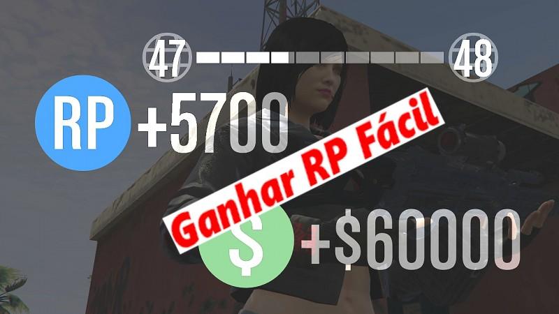 GTA V - Ganhar XP Fácil