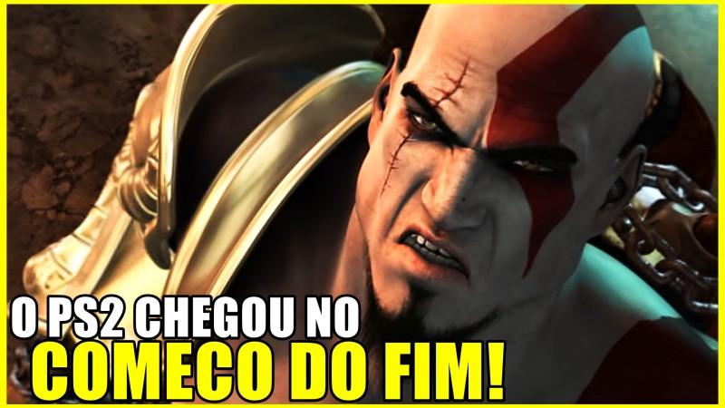 O PS2 FOI AO LIMITE COM GOD OF WAR 2