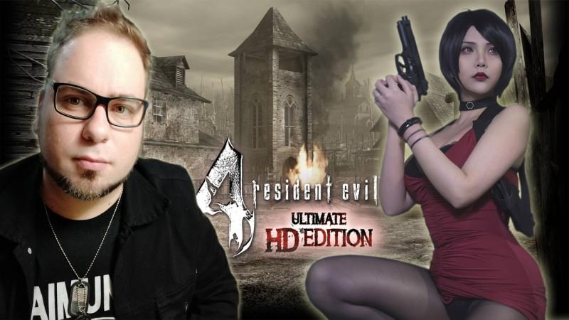 Resident Evil 4 - Dia de Bombar o Canal | Live de Natal