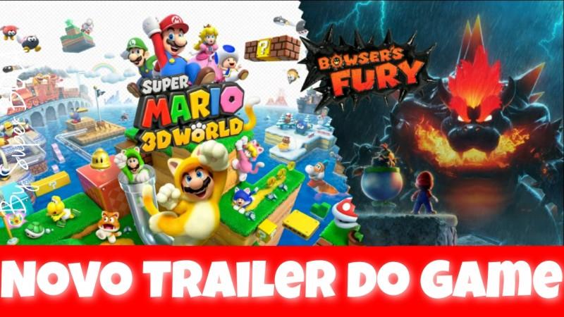 Trailer Oficial: A Bigger Badder Bowser - Super Mario 3D World + Bowsers Fury - Nintendo Switch