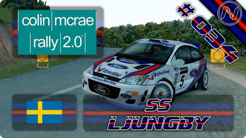 Colin McRae Rally 2.0   Playthrough   Suécia   SS   Ljungby   Ford Focus WRC 2000