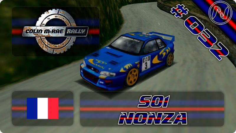 Colin McRae Rally | Playthrough | França | S01 | Nonza | Subaru Impreza 22B STi