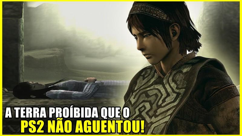 O PS2 FOI AO LIMITE COM SHADOW OF THE COLOSSUS