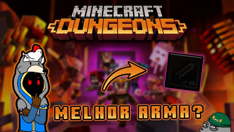 TODAS AS NOVIDADES DA NOVA EXPANSÃO - FLAMES OF THE NETHER! MINECRAFT DUNGEONS