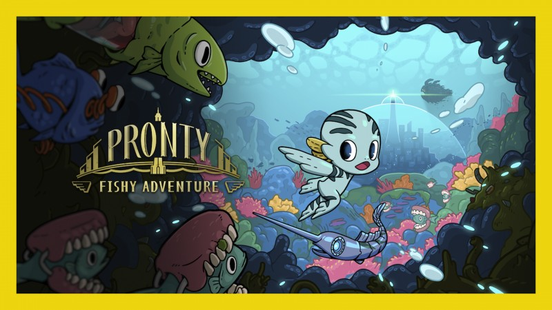 棄海:波弟大冒險 Pronty: Fishy Adventure (Início de Gameplay)