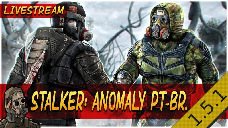 STALKER ANOMALY 1.5.1 FINAL / Se disfarçando de cientista / Facção Bandidos.