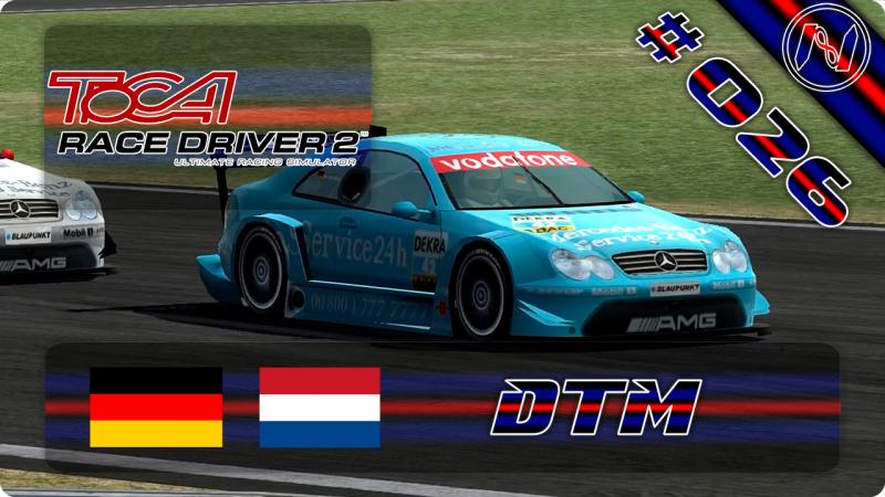 TOCA Race Driver 2 | Playthrough | DTM | Mercedes CLK AMG