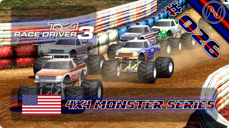 TOCA Race Driver 3 | Playthrough | Tier 5 | 4X4 Monster Series