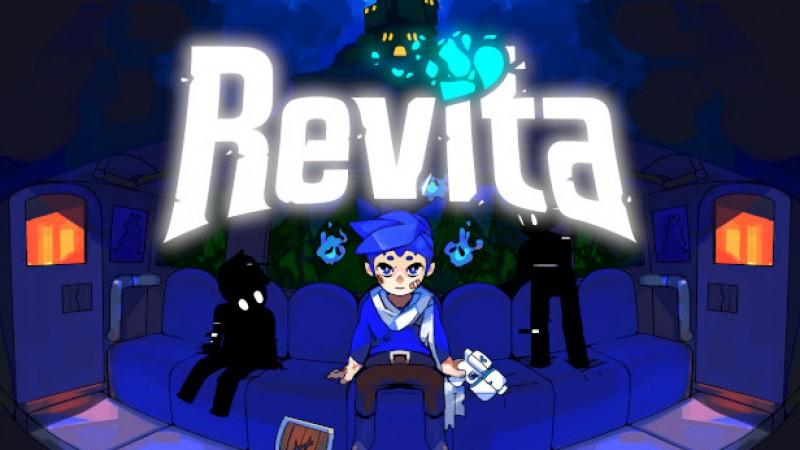 AVENTURA EM 8 BITS - REVITA - GAMEPLAY DE ANALISE DO JOGO (PC)