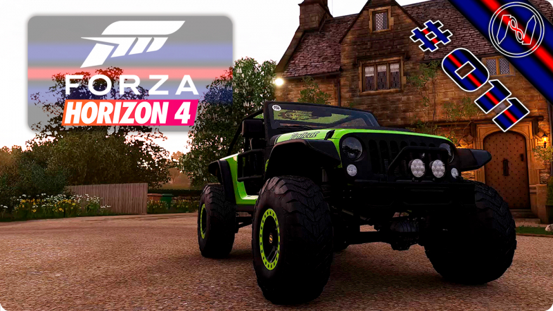 Forza Horizon 4 | Playthrough | Events 031 - 033 | Jeep Trailcat
