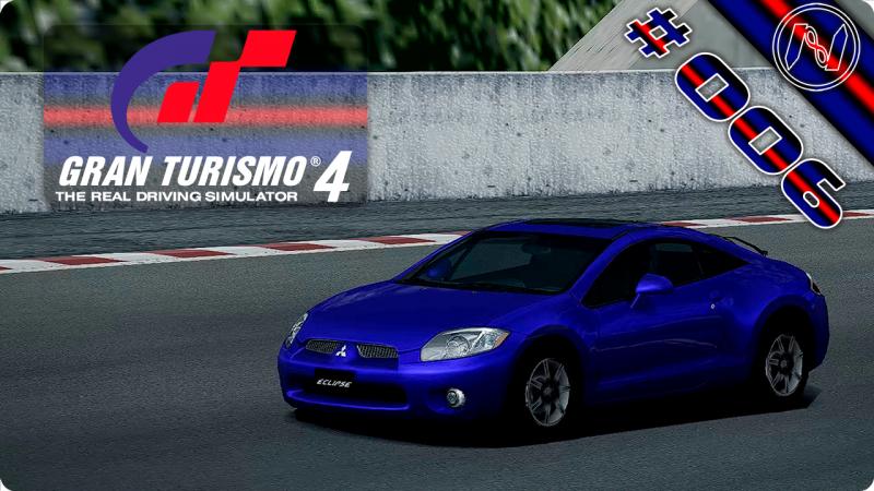 Gran Turismo 4 | Playthrough | FF Challenge 1-5 | Mid-Field Raceway R | Mitsubishi Eclipse GT 06