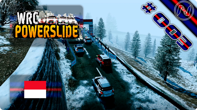 WRC Powerslide | Playthrough | Monte Carlo | WRC Class | Citroën DS3 WRC