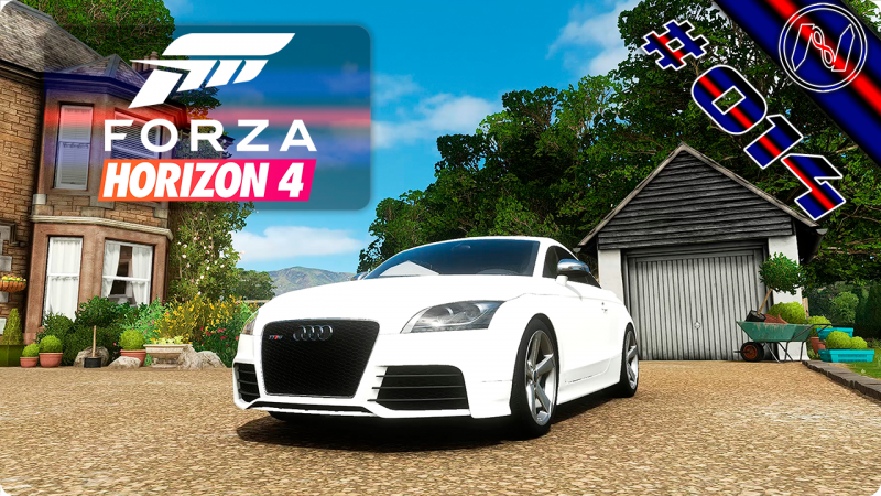 Forza Horizon 4 | Playthrough | Events 040 - 042 | Audi TT RS