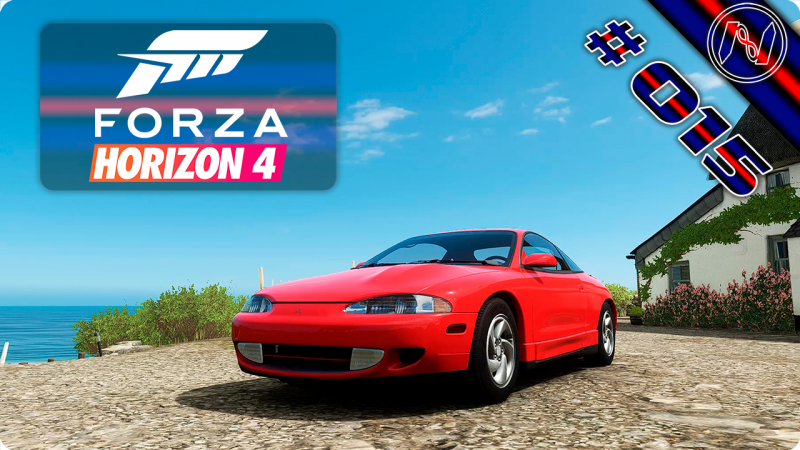 Forza Horizon 4 | Playthrough | Events 043 - 045 | Mitsubishi Eclipse GSX