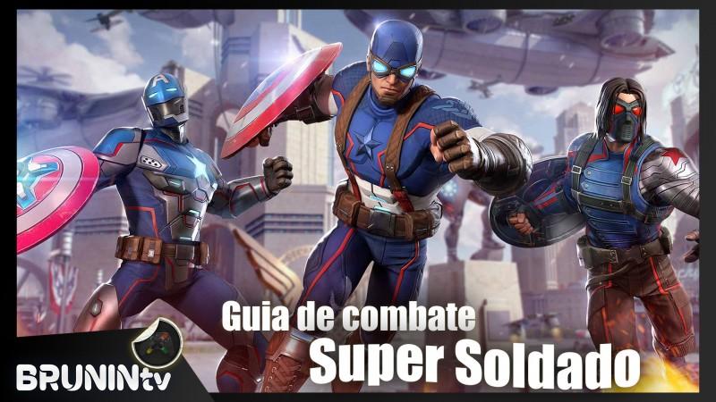 Marvel Reino dos Campeões - Guia de Combate (Super Soldado)