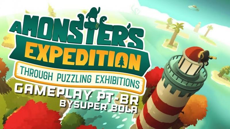 A Monsters Expedition | Jogo de Puzzle muito Charmoso, GamePlay PT-BR, em Português | By Super BOLA