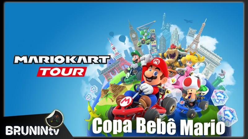 Mario Kart Tour - Copa Bebê Mario