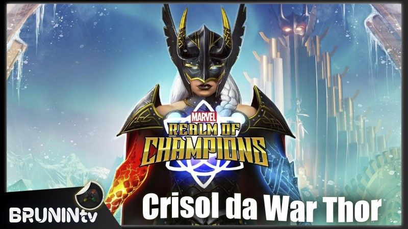 Marvel Reino dos Campeões - Crisol da War Thor