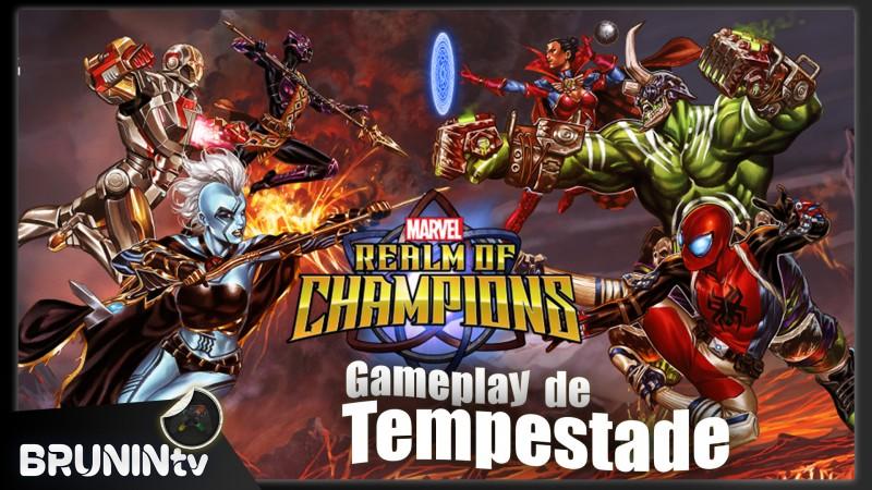 Marvel Reino dos Campeões - Gameplay de Tempestade
